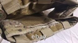 Quick Release Plate Carrier Real Multicam