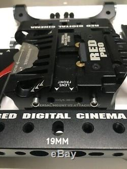 RED Pro Digital Cinema DSMC QUICK RELEASE Platform with DOVETAIL MOUNT Plate +More