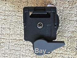 Really Right Stuff BH-30 Ballhead Manfrotto Quick Release Lever Clamp, 2 Plates