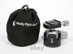 Really Right Stuff BH-55 Ball Head with Full Size Screw-Knob Clamp + kirk plate