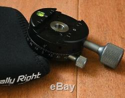 Really Right Stuff RRS PC-L 1B Pro Panning Clamp Plate MINTY w case for BH55 40