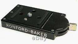 Ronford Baker Mini-Euro (80mmx65mm) Quick Release Plate-use with arri sachtler RED