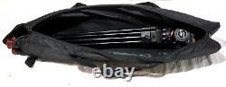 SACHTLER FLUID HEAD DV 350 MIDLEVEL SPR 3 RED FEET PLATE BAR BAG SERVICED 10Lbs