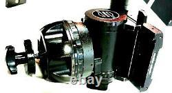 SACHTLER FLUID HEAD STUDIO 65 TEL PAN BAR PLATE TIE DOWN AIR BOX SERVICED 110Lbs