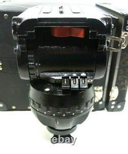 SACHTLER FLUID HEAD STUDIO II VIDEO 30-II BAR PLATE TIE DOWN BOX SERVICED 110Lbs