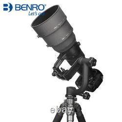 SECOND HANDBenro GH2 Panoramic Head w PL100 Plate Tripod Head For DSLR Camera
