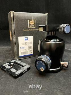 SIRUI K40X Ball Head EUC Barely Used Box, Bag, Manual, TY-70X Plate Camera Video