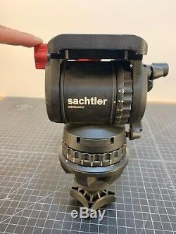 Sachtler 1006 DV 10 SB Fluid Head 100mm Bowl with Pan Arm & Plate