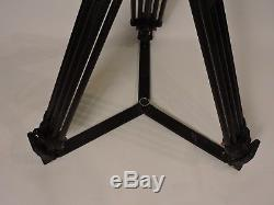 Sachtler 18 Speed Balance Fluid Head 100mm Carbon Tripod Spreader Pan Bar Plate