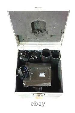 Sachtler 30 II STUDIO II HEAD TELESCOPIC PAN BAR TDKNOB PLATE MINT SERVICED 110L