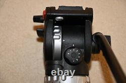 Sachtler AceL SA Drag 75mm Bowl with Slide In Camera Plate & Pan BarGREAT