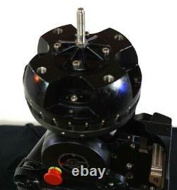 Sachtler CINE 30 HD FLUID HEAD TELESCOPIC PAN BAR PLATE TDKNOB SERVICED 77.2Lbs