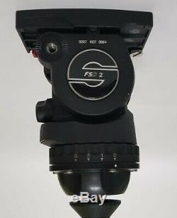 Sachtler FSB-2 Fluid Head Sideload System, Sliding balance Plate & Dynamic count