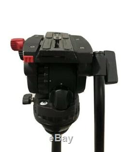 Sachtler FSB 6 Fluid Head with Sideload Camera Plate & Pan Bar