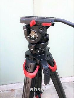 Sachtler System FSB 8 Fluid Head with Sideload Plate, Flowtech 75 CF MFR #0795