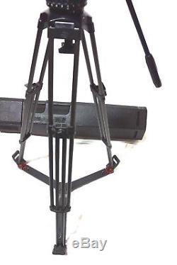 Sachtler V 20 Fluid Head CF L CARBON Sticks Case Ground Spr Plate Bar BEAUTY