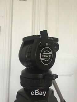 Sachtler Video 14 Fluid Head and Tripod, 2x Genuine Plates, Great Condition