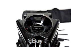Sachtler Video 18P Fluid Head CF Carbon Sticks Mid Lv Spr Case 3 Feet Plate Bar