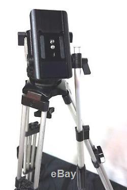 Sachtler Video 18P PLUS S SENSOR Fluid Head AL Sticks Case GR Spreader Plate Bar