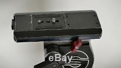 Sachtler Video 20III Fluid Head, includes pan handle, quick release plate
