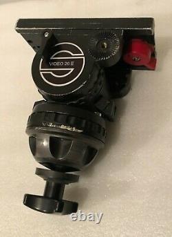 Sachtler Video 20 II Fluid Head (100mm) Fixing Screw Camera Plate