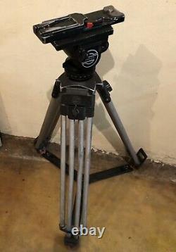 Sachtler Video 20 ll Fluid Head Tripod Spreader Chamber Plate 16 VCT Plate 14