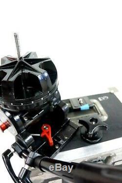 Sachtler Video 25 II Fluid Head 150mm WEDGE Plate PAN BAR CASE SERVICED 66Lbs