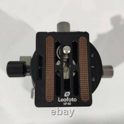 Second hand-Leofoto Panoramic Geared Ball Head LH-40GR w QR Plate for Arca Swiss