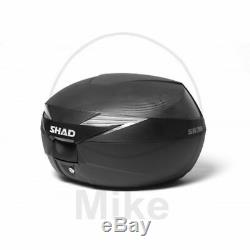 Shad D0b39106 Top Case Sh39 40 Liters With Quick Release Plate Carbon Motorbike