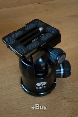 Sirui K-40X Ball Head and QR Plate in LN / Mint Condition 77lb capacity