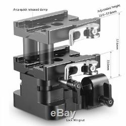 SmallRig 2145 Universal 15mm LWS Support Baseplate (BMPCC) & QR Plate 2146