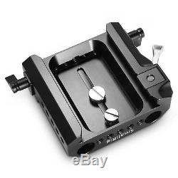 SmallRig Explorer Bridgeplate for Arri Quick Release Plate with 15mm LWS Clamps