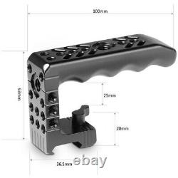 Small Rig Top Plate + Top NATO Handle for RED DSMC Cameras
