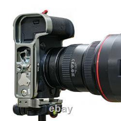 Stabil LCR5 L Plates (Bracket) For Canon EOS-R5 / EOS-R6 Camera (Titanium)