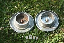 Stylish vintage BOLEX Paillard WOOD & aluminium TRIPOD +TWO Quick Release plates