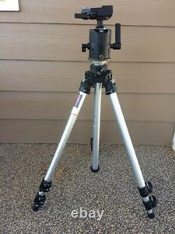 Tripod Manfrotto by Bogen 3021 with 3038 Ball Head Bogen No QR Plate