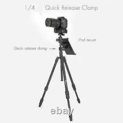 Tripod Quick Release Plate Clamp Mounting with1/4 20 for Bendable Camera Mounting