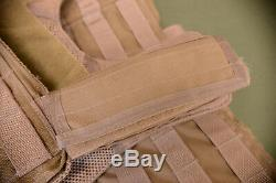 USGI Eagle CIRAS Style Plate Armor Carrier Quick Release Khaki Small (#74)