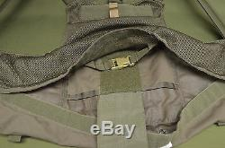 USGI Eagle CIRAS Style Plate Carrier Quick Release Olive Large