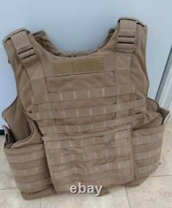 USMC Plate Carrier with Soft Inserts + yib yab + quick release cord Medium