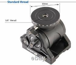 US DealerLeofoto BV-10 60mm Video head with Quick Release Plate