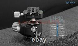 US DealerLeofoto LH-40 Low Profile Ball Head with Quick Release Plate and CASE