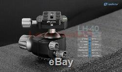 Used Leofoto LH-40 Low Profile Ball Head with Quick Release Plate