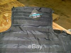 VISM Quick Release Plate Carrier Combo with Soft Plates #BPCVPQR2964B-A