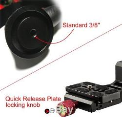 Viltrox Carbon Fiber Panorama Gimbal Clamp Tripod Ball head+Quick Release Plate