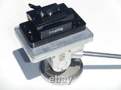 Vintage Linhof Precision Pan & Tilt Tripod Head with SmallRig Quick Release Plate