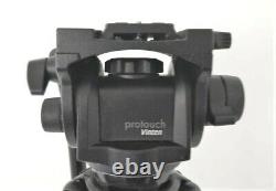 Vinten Pro 6HDV Fluid Head, Tripod, Pan Arm and QR Camera Plate