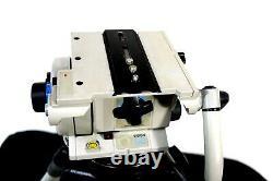 Vinten VISION SD 22 FLUID HEAD DA TRIPOD SYS TELBAR PLATE GRSPR BAG SERVICED 66L