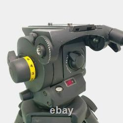 Vinten Vision 100 with pan bar and camera plate BLACK in excellent condition