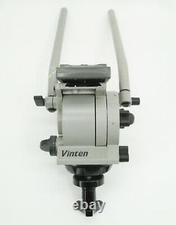 Vinten Vision 10 Pan Tilt Head with Bar Handle Arm & VCT-U14 Quick Release Plate